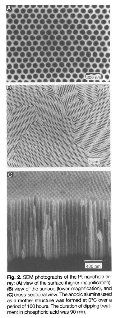 光学显微镜证明表面结构改变了颜色